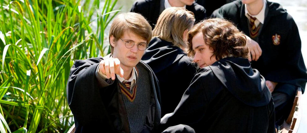 <p>James Potter et Sirius Black dans leur jeunesse.</p>