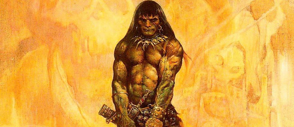 <p>Conan le Barbare illustré par Frazetta.</p>