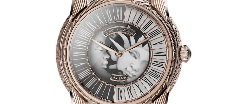 <p>Pour leur deuxième collection de haute horlogerie, Dolce &amp; Gabbanna mise sur des mouvements manufacture et un travail artisanal de haute voltige.</p>