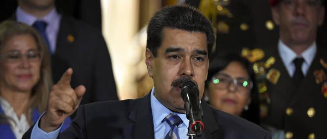 Le président du Venezuela Nicolás Maduro.
