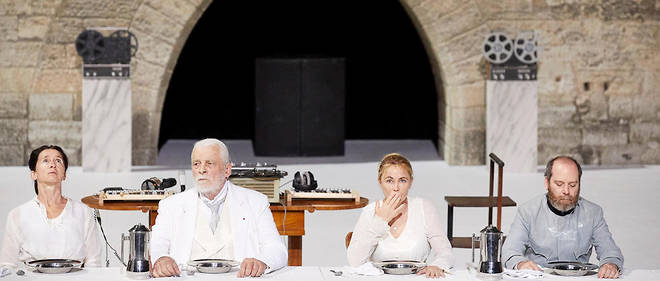 «Architecture» de Pascal Rambert, jusqu'au 13 juillet au Festival d'Avignon puis au TNB de Rennes du 26 septembre au 5 octobre.