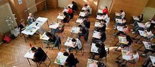 Pour 1% des élèves, certaines notes sont provisoires.