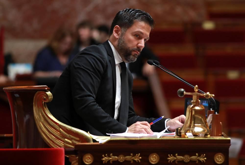 Hugues Renson. ©  JACQUES DEMARTHON / AFP
