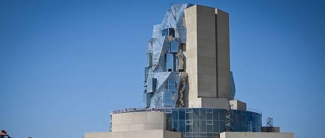 La tour dessinée par Franck Gehry, qui abrite la Fondation Luma, à Arles.