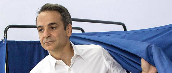 Kyriakos Mitsotakis, 51 ans, sera le futur Premier ministre puisque sa formation a recueilli 40% des suffrages.