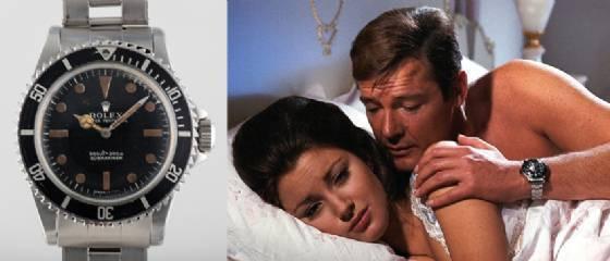 Roger Moore, James Bond et Rolex, un triple mythe