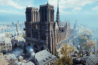 Notre-Dame de Paris dans « Assasin's Creed Unit ».
