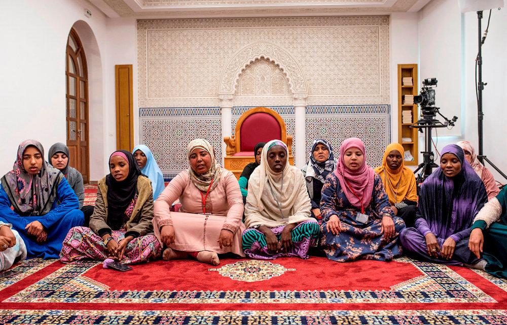 Mixité. L'Institut Mohammed-VI accueille chaque année à Rabat 1300étudiants, parmi lesquels 150femmes. Elles ne seront pas imams, mais prédicatrices.