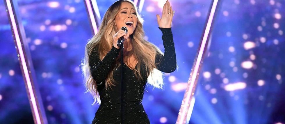 <p>Mariah Carey a donné un concert impeccable à Québec jeudi soir. Ici, quelques mois plus tôt, en concert à Las Vegas.</p>