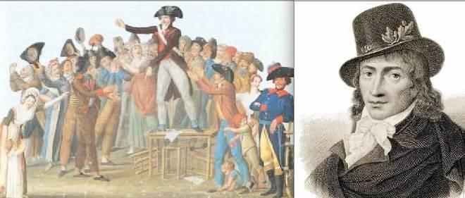 12 juillet 1789. Camille Desmoulins lance la Révolution, après un discours enflammé au Palais-Royal