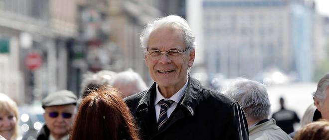 Michel Noir, ex-maire de Lyon, en 2016.