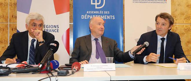 En juillet 2018, François Baroin, Dominique Bussereau et Hervé Morin, respectivement présidents de l'Association des maires, des départements et des régions de France, annoncent le boycott de la troisième édition de cette conférence nationale des territoires. Photo d'illustration.