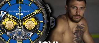Christophe Claret a créé une montre avec le célèbre champion de boxe ukrainien.  ©LPM