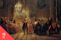 L'arrière-petit-fils de Frédéric-Guillaume, FrédéricII le Grand, roi de Prusse de 1740à 1786, a vécu à une époque totalement différente. La Prusse s'était imposée comme une grande puissance européenne et le roi avait davantage d'autorité, si bien qu'à l'inverse de son ancêtre il n'avait pas besoin de prêter attention aux caprices des territoires.