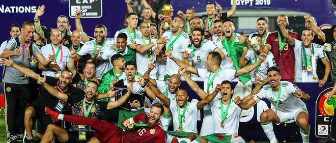"""""""Dans le ciel du Caire, vendredi 19 juillet 2019, tous les astres étaient alignés pour les Vert et Blanc de l'équipe d'Algérie."""""""