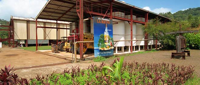 La distillerie La Mauny, enMartinique.