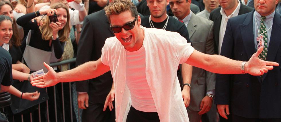 <p>Ricky Martin au temps du succès, en 1999.</p>