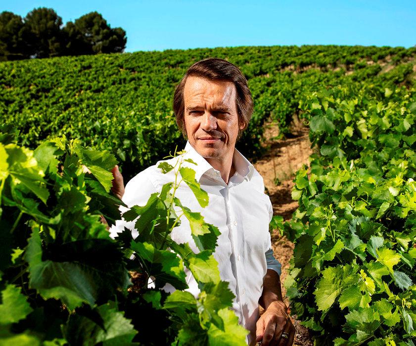Le goût de l'excellence. Thierry Mueth, le directeur dudomaine, a pour ambition d'élaborer des vins enbio d'ici à2020.