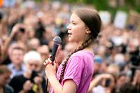 L'activite suédoise pour le climat, Greta Thunberg, le 19 juillet 2019.