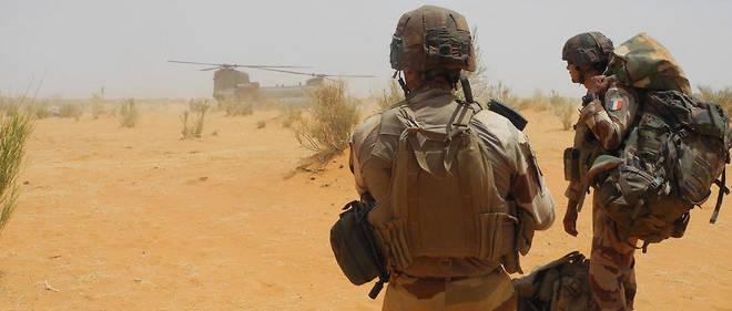 Une cinquantaine de militaires estoniens assurent à Gao des missions de patrouille et de protection des installations de l'opération Barkhane, qui mobilise 4 500 Français au Sahel et dont la principale emprise militaire au Mali est située à Gao (photo d'illustration)