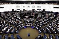 <p>Le Parlement européen.</p>
