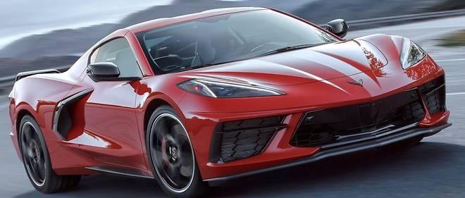 On retrouve des traits de la C7 à moteur avant dans cette Chevrolet Corvette C8 passée au moteur central arrière, mais les effets de style ne font pas mouche