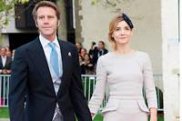 Le prince de Venise et son épouse, Clotilde Courau, en 2012.