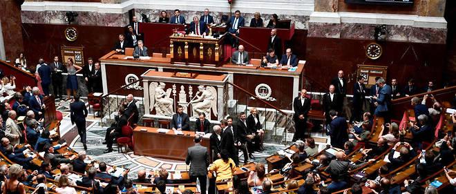 L'ensemble de la gauche s'est prononcé contre tandis que LR et UDI-Indépendants se sont en majorité opposés au texte qui doit maintenant être soumis au Sénat à une date encore indéterminée.
