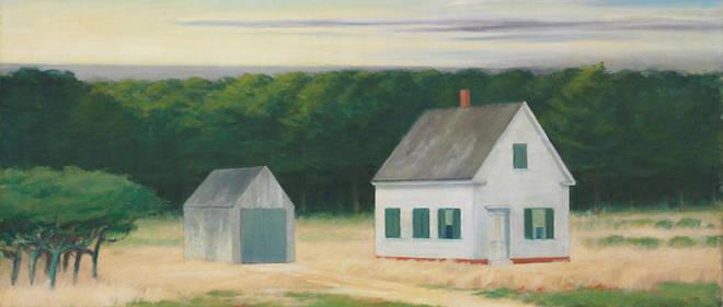 Edward Hopper, Octobre à Cape Cod, 1946. Huile sur toile, 66,7 x 107,3 cm. Collection particulière.