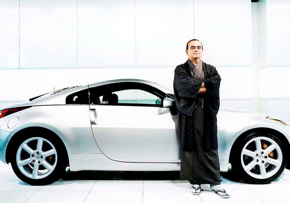 Samouraï. Carlos Ghosn, fin 2004. Il s'apprête à prendre la direction générale de Renault.
