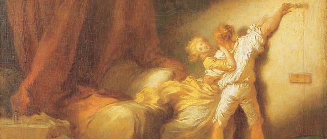 « Le Verrou », de Jean-Honoré Fragonard (1732-1806,).