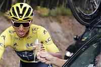 Bernal est le premier Colombien à remporter le Tour.