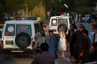 Une vidéo tournée près de la scène montre des personnes fuyant les abords du lieu de l'explosion, plongé dans une épaisse poussière.