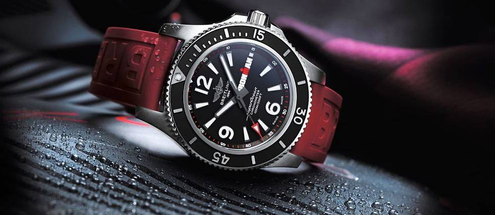 <p>La Breitling Superocean Automatic 44 Ironman Limited Edition</p>
