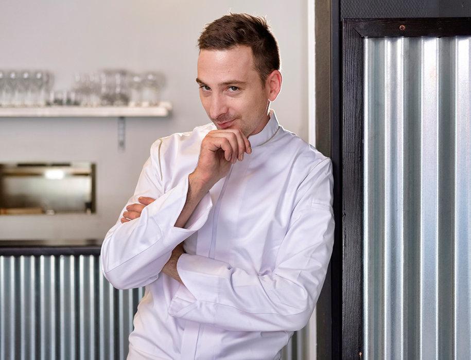 Loïc Mercier, le chef du restaurant Boulevard45.