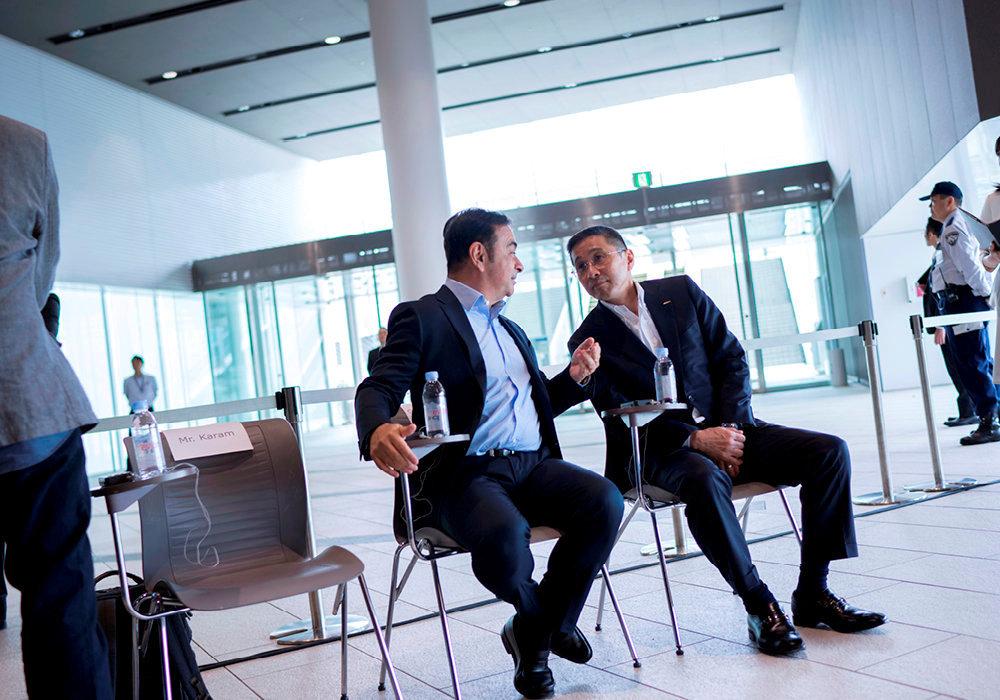 Tandem. En 2017, il nomme Hiroto Saikawa, en qui il a confiance, directeur général de Nissan.
