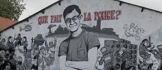 Une fresque a été peinte par des graffeurs en hommage à Steve Maia Caniço.