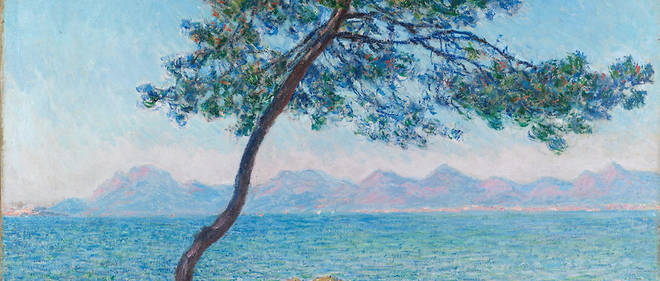 "Claude Monet, ""Antibes. Montagnes de l'Esterel"", 1888. Huile sur toile, 65,5 x 92,4 cm. Londres, Courtauld Institute of Art Gallery."