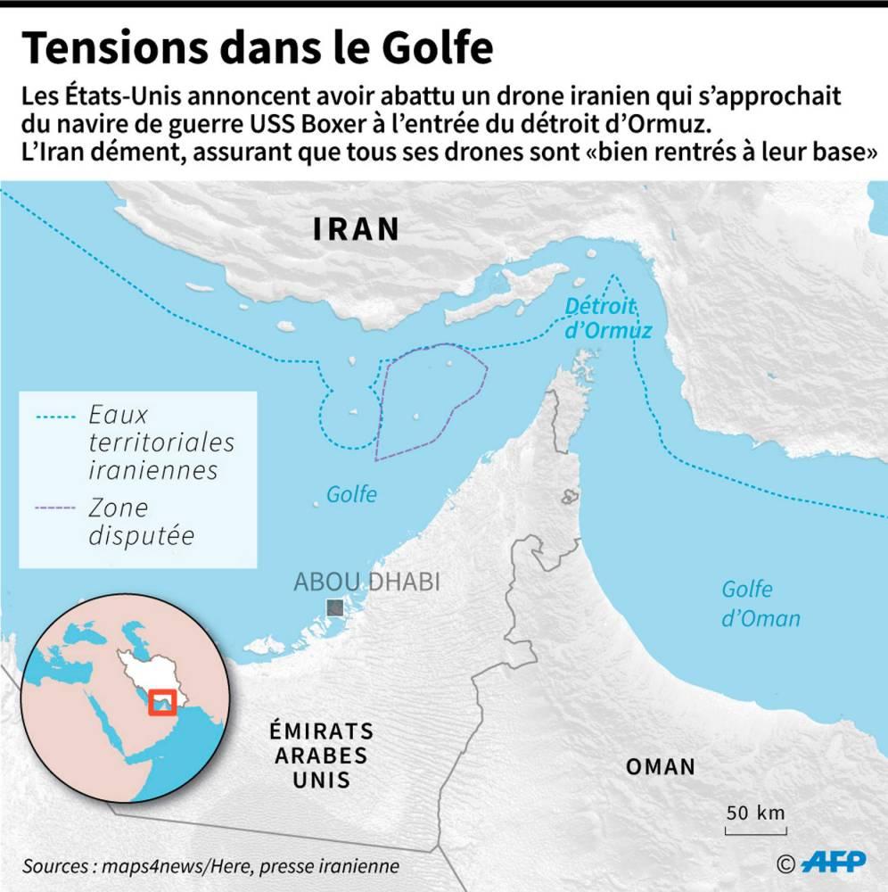 Détroit-Ormuz-Iran-États-Unis- ©  AFP
