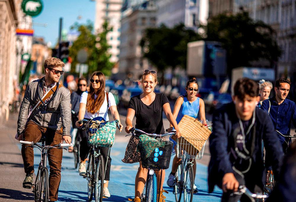 Record. La capitale danoise compte plus de vélos que d'habitants.