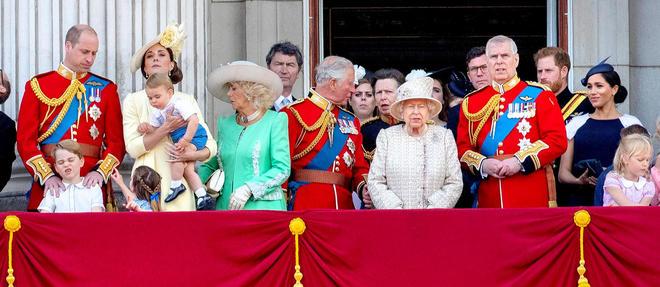 La famille royale britannique au grand complet.