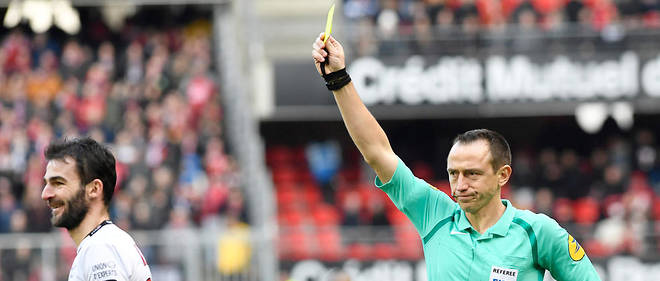 Un arbitre de Ligue 1 (Illustration)