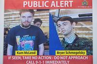 La police pense que les corps sont ceux de Kam McLeod et Bryer Schmegelsky.