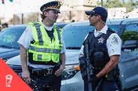 Aux États-Unis,75 % des policiers sont blancs.
