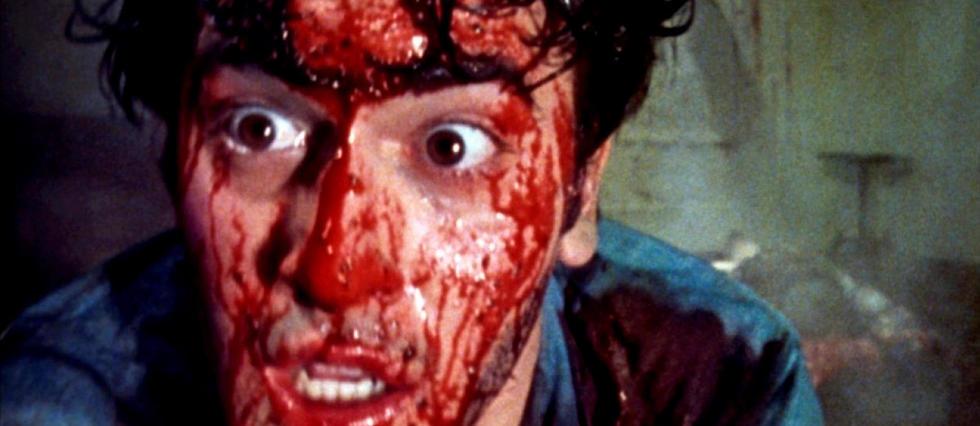 <p>Bruce Campbell, alias le pauvre Ash Williams, martyr d'une entité démoniaque le harcelant dans une cabane au fond des bois.</p>