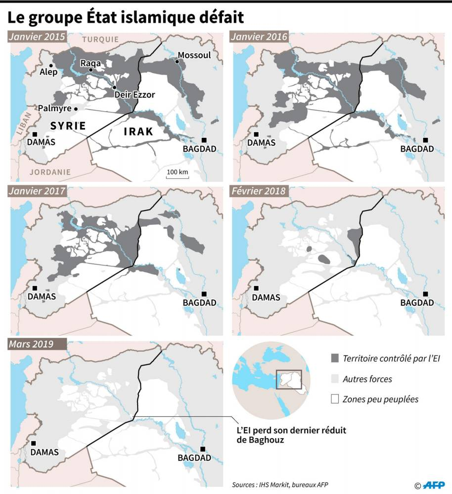 -État-islamique-califat- ©  AFP