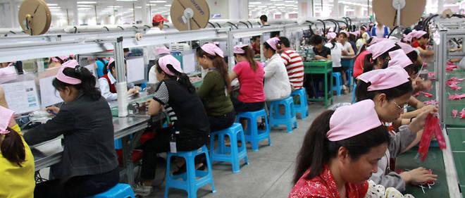 Foxconn fait travailler plus d'un million de personnes en Chine. Photo d'illustration.