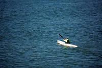 Le Français faisait face à des conditions difficiles sur le lac. Photo d'illustration.