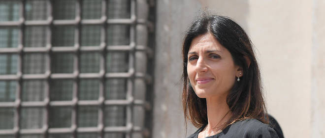 La maire de Rome, Virginia Raggi, issue du Mouvement 5 étoiles.