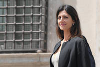 La maire de Rome, Virginia Raggi, issue du Mouvement 5 etoiles.